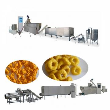 Fried Roasted Corn Kurkure Snacks Food Production Extruder Making Machine