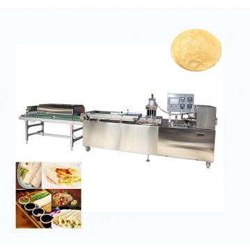 Crispy single screw fried automatic tortilla maker machine