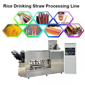 Natural Vegetable Biodegradable Colorful Edible Rice Straw Production Line