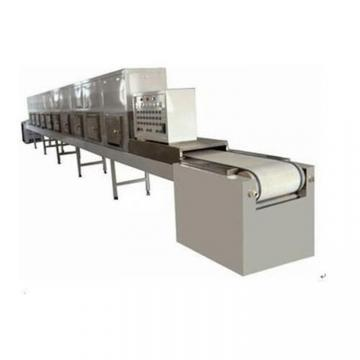 Microwave continuous mesh hemp conveyor belt dryer
