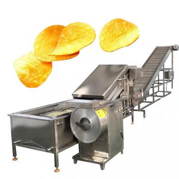 European Standard Industrial Potato Chips Making Machines/Frozen Fryer Potato Chips Manufacturing Process Equipments