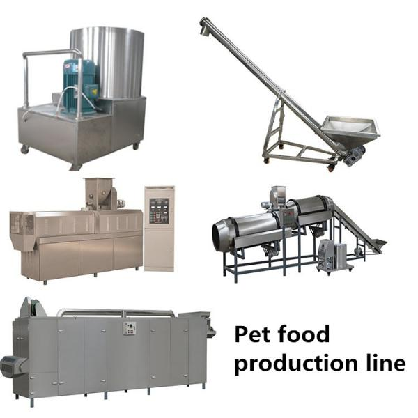 Pet Food Fish Food Processing Line with Extruder to Produce Floating Fish Feed #3 image