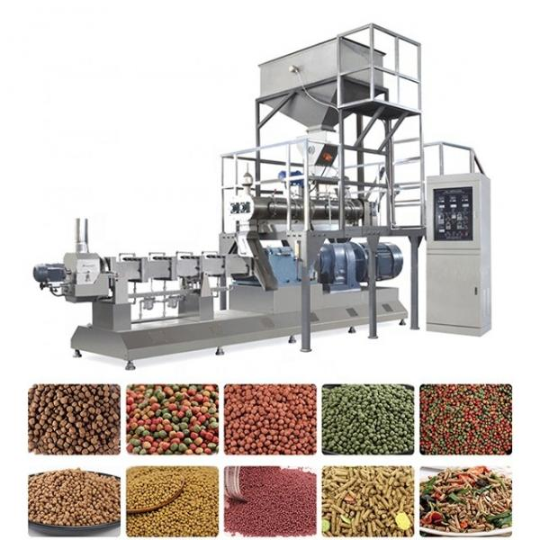 5t/H Automatic Cow Chicken Cattle Poultry Animal Feed Processing Plant Animal Feed Production Line Unit, Feed Pellet Processing Machine Floating Fish Feed Mill #3 image