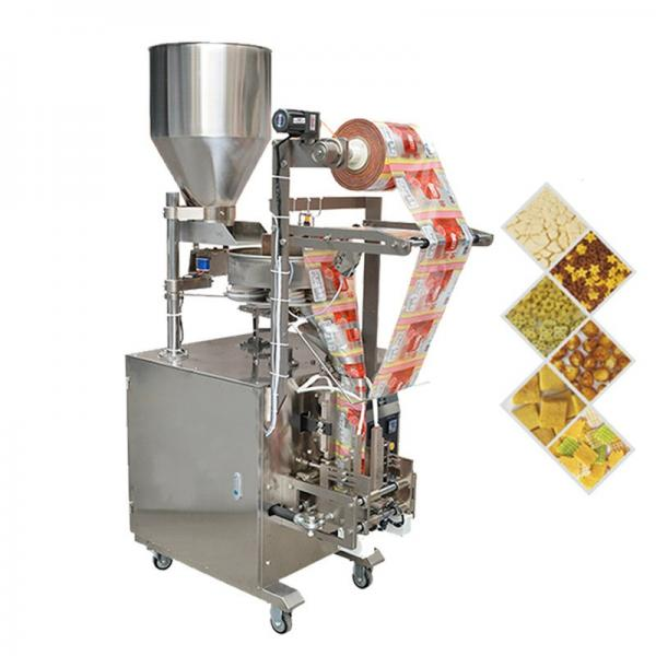 automatic Herbal tea triangle package food packing machine #3 image